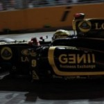 Singapore GP – Race – Lotus Renault GP Report