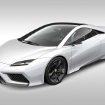 New Era Lotus Esprit - Front three quarter, render