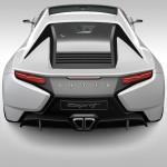 New Era Lotus Esprit - Rear, render
