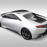 New Era Lotus Esprit - Rear three quarters, render