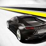 New Era Lotus Esprit - Rear three quarters, render