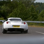 Evora IPS - On the Road - Rear, cornering