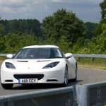 Evora IPS - On the Road - Front, cornering