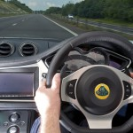 Evora IPS - Dashboard, driving