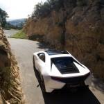 New Era Lotus Esprit - Rear angled high, photoshoot