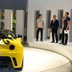 Evora GTE at Frankfurt 2011 - Unveiling, Bruno Senna, Jake Humpfrey, Dany Bahar