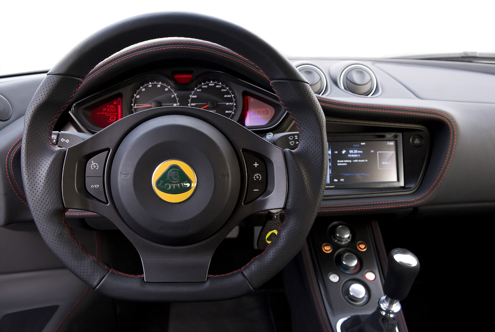 Interior: Evora MY12 Updates