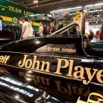 Autosport International - Lotus Type 97T - Ayrton Senna