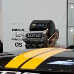 Autosport International - Lotus Indycar engine