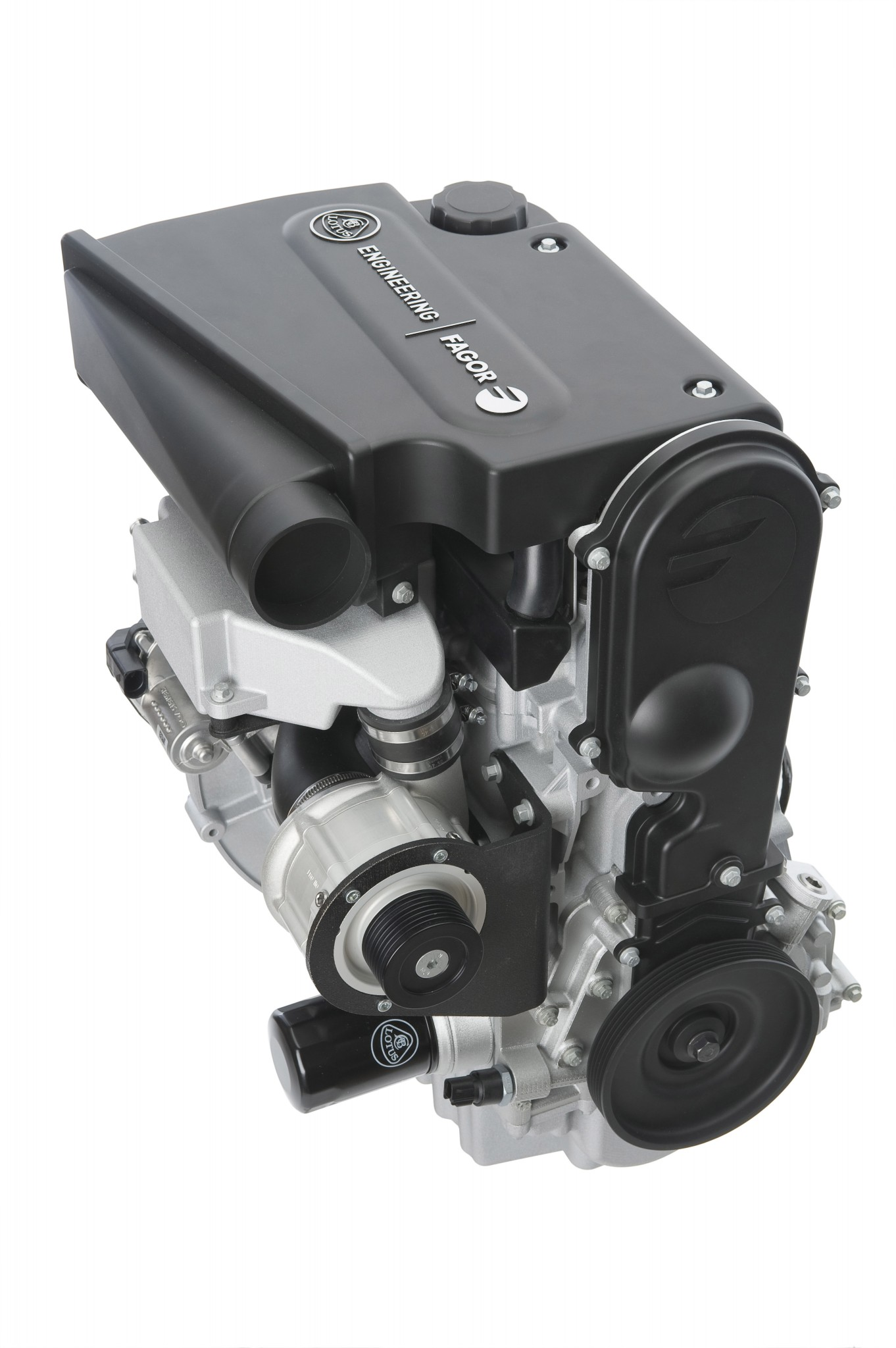Flex Fuel Cars >> Lotus Cars – Lotus Engineering / Fagor Ederlan Supercharged Production 3-Cylinder Range Extender ...