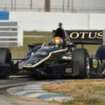 Lotus Shows Promise in Indycar Opener