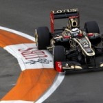 Lotus F1 Team – European GP 2012 – Friday Practice