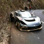 Sousa and Exige R-GT crash out of Madeira debut