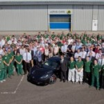 Lotus Cars – First Production Exige S comes off the Assembly Line