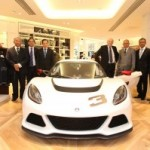 Lotus Cars – Business Secretary visits Lotus' flagship 'Lotus Originals' store