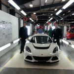 Bell & Colvill collect UKs first Exige S dealer demonstrator car