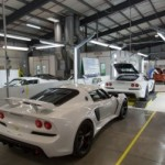 On the line with the Exige V6