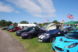 Lotus Festival 2012 Campsite