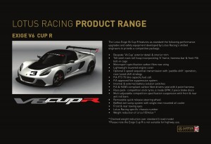 Lotus Racing December 2012 Brochure - Page 8