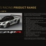 Lotus Racing December brochure gives more information on Evora supercharger kit and Exige V6 Cup R