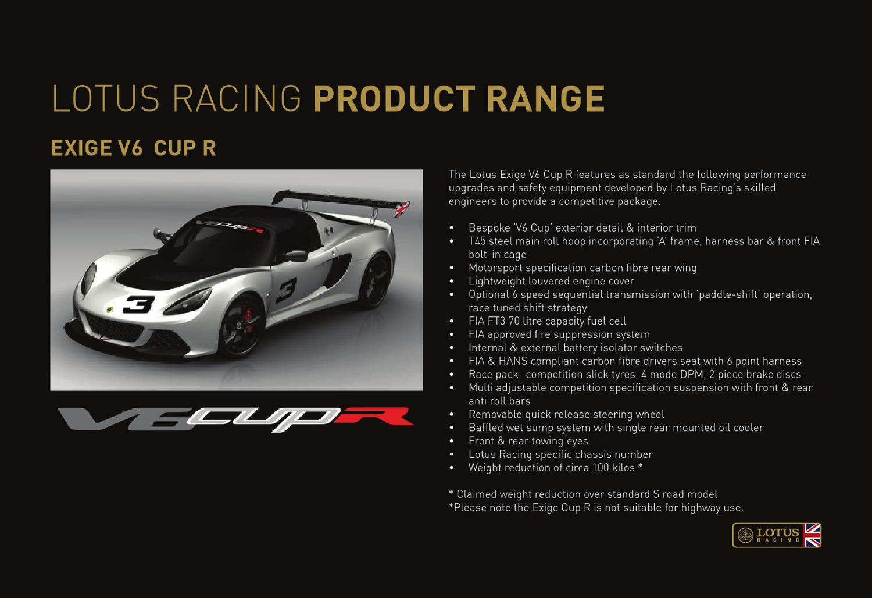Lotus Exige V6 CUP R Lotus-Racing-December-2012-Brochure-Page-8