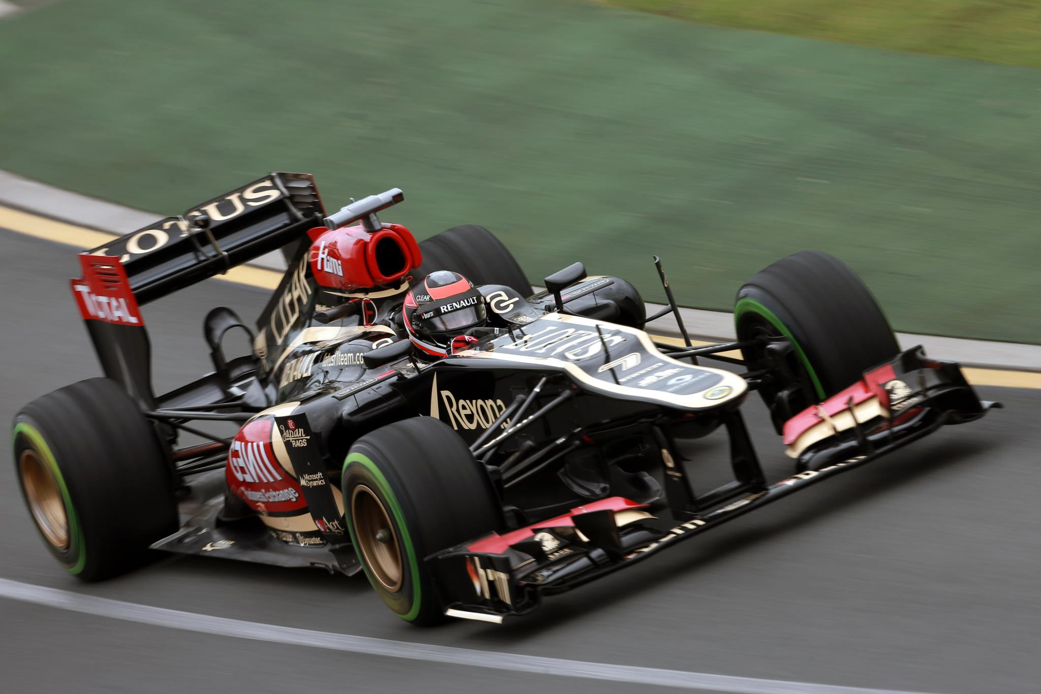 lotus f1 team australian gp race report seloc. Black Bedroom Furniture Sets. Home Design Ideas