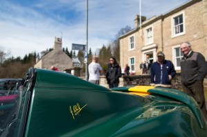 Jim Clark Edition outside The Jim Clark Room