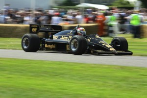 Lotus-Renault 98T at the Goodwood Festival of Speed in 2012