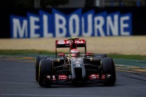 Lotus F1 Team - Australia 2014