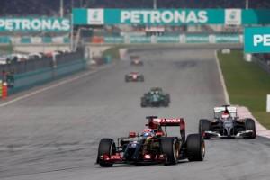 Lotus F1 Team - Malaysia 2014