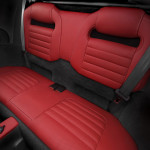 Evora 400 Rear Seats