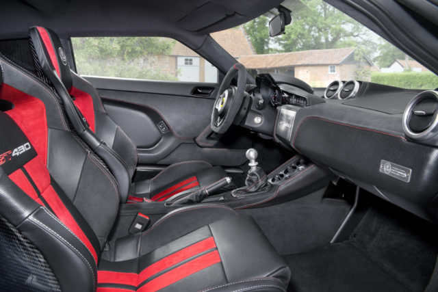 Lotus Evora GT430 Sport Interior